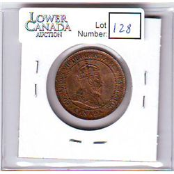 Canada 1 Cent 1903 MS-62, Red & Brown.