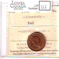 Cent 1946, ICCS MS-64; Red.