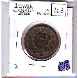 USA Large Cent 1847, G-4.