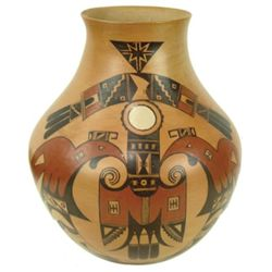 Hopi Pottery Jar  - Dextra Quotskuyva (Nampeyo)