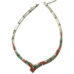 Navajo Necklace - Calvin Begay