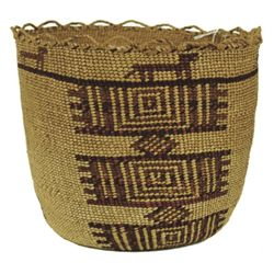 Skokomish Basket - Louisa Pulsifer