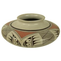Hopi Pottery Jar- Helen Naha (Feather Woman)