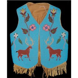 Nez Perce Beaded Vest