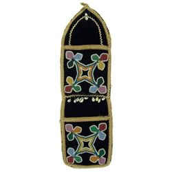 Tlingit Beaded Wall Pocket