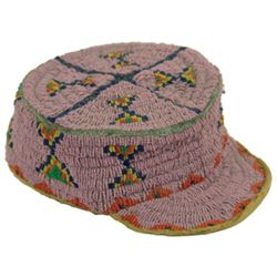 Sioux Beaded Child's Hat