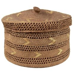 Tsimshian Storage Basket