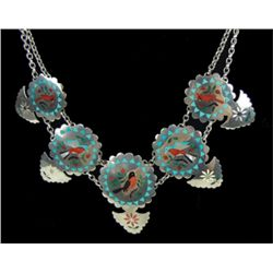 Zuni Inlay Necklace- Sammy & Ester Guardian