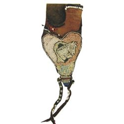 Antique Beaded Holster