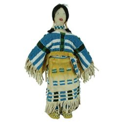 Cheyenne Beaded Doll