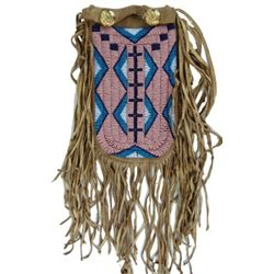 Plains Beaded Pouch
