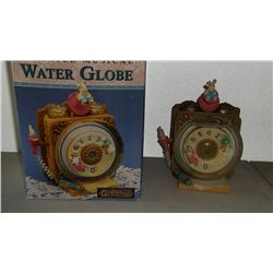 Animated Musical Water Globe