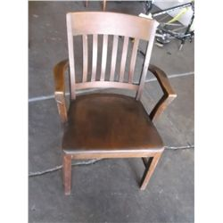 Wood Mission Style Captains chair