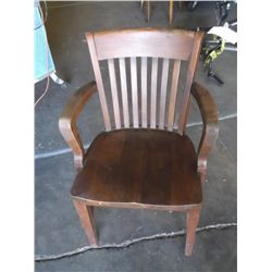 Wood Mission Style Captain Chair