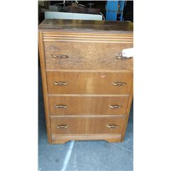 "4 Drawer dresser 30"" wide 18"" deep 43"" tall"
