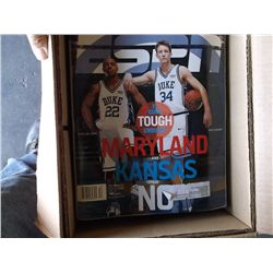 Box of misc. magazines sports, booklets, and