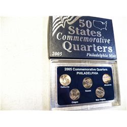 2005 Commemorative Quarters Philadelphia
