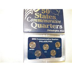 2004 Commemorative Quarters Philadelphia