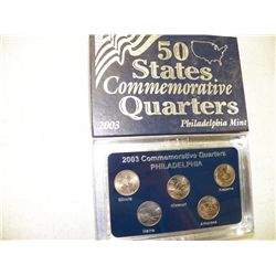 2003 Commemorative Quarters Philadelphia