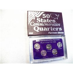 2003 Commemorative Quarters Platnum Edition