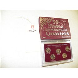 2001 Quarters Commemorative Denver