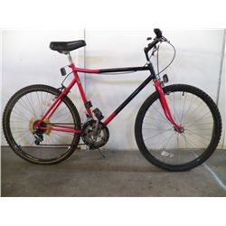 Black & Red 15 Speed 26""