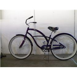 OP Free Purple Beach Cruiser