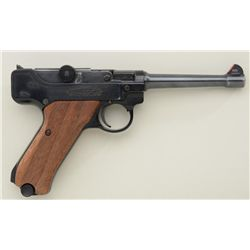 Copy of a Luger semi-auto pistol by Stoeger  Arms Corp. of Hackensack, New Jersey, .22LR  cal., 5-1/