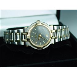 Ladies two-tone gold tone 'GUCCI' watch.  Estimate $200-$400