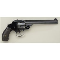 Smith & Wesson .38 Safety Hammerless Model DA  revolver, U.S. marked on the left side of  the barrel