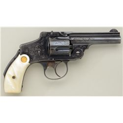 "Smith & Wesson .38 Safety Hammerless DA  revolver, .38 S&W cal., 3-1/4"", blue finish,  factory style"