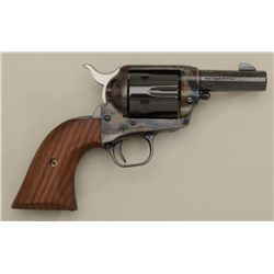 "Colt SAA Sheriff's Model revolver, .44 cal.,  3"" barrel, blue and case hardened finish,  wood grips,"