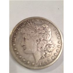 1892-S VF Morgan Silver Dollar