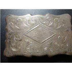 1.72 TROY OZ STERLING SILVER BELT BUCKLE