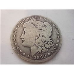 1880-O SILVER MORGAN DOLLAR