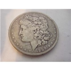 1889-O SILVER MORGAN DOLLAR