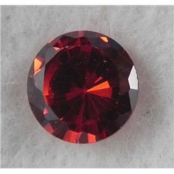 6.5ct Natural Gemstone Round Shaped Red Color