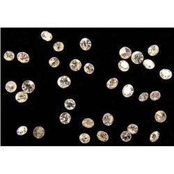 28 High Grade Diamonds Totalling 82 pts