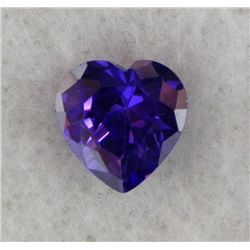 5.18ct Natural Gemstone Purple Color Heart Shaped