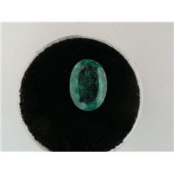 2.40 Carat Bright Glowing Green Emerald Gemstone