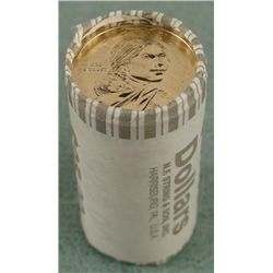 1 Bank Roll 2010-P UNC Sacagawea Dollars