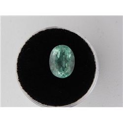 3.31 Carat Bright Glowing Green Emerald Gemstone
