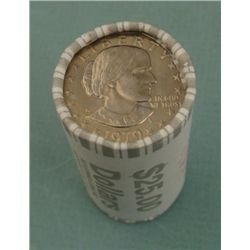 1979-D Bank Wrapper Dollar Roll Susan B. Anthony Unc