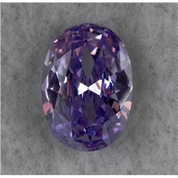 6.57ct Natural Gemstone Light Purple Color Oval Shaped