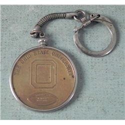 1968 Rose Bowl Ohio State University Medal Key Chain