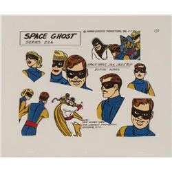 Space Ghost Jan Jace Blip Orig Pose Model Cel Animation