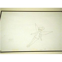 Disney Tinker Bell Orig Drawing Return to Never Land