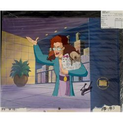 Signed Cel Animation Fantastic Four Stan Lee Original