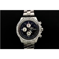 WATCH: Stainless steel gents Breitling Aeromarine Super Avenger Chronometre watch