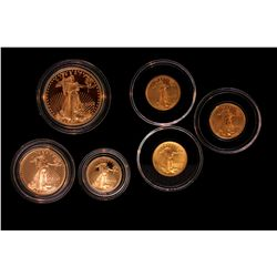 COIN: (6) Gold Eagle Coins